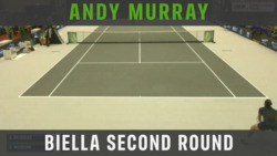 Highlights: Murray Moves Into Biella QF