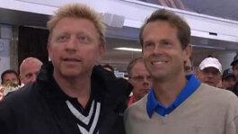 In Bastad, Becker & Edberg Reflect On Their Rivalry