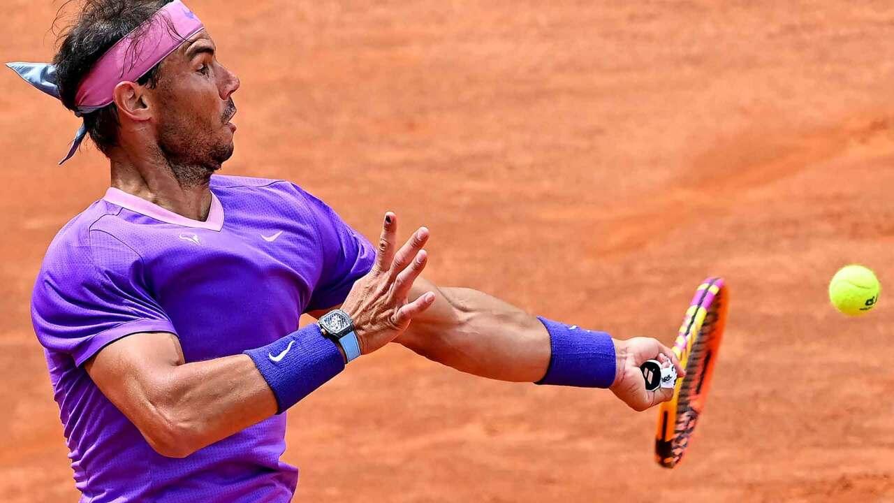 Hot Shot: Nadal Defends Before Striking Killer Blow