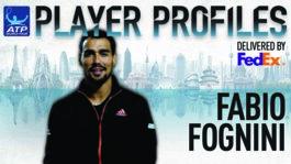Fognini FedEx ATP Player Profile 2017