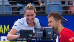 La Divertida Revisión De Vídeo De Albot En La ATP Cup