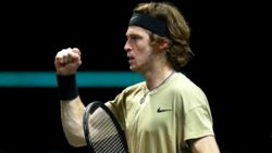 Hot Shot: Rublev's Relentless Forehand Combination