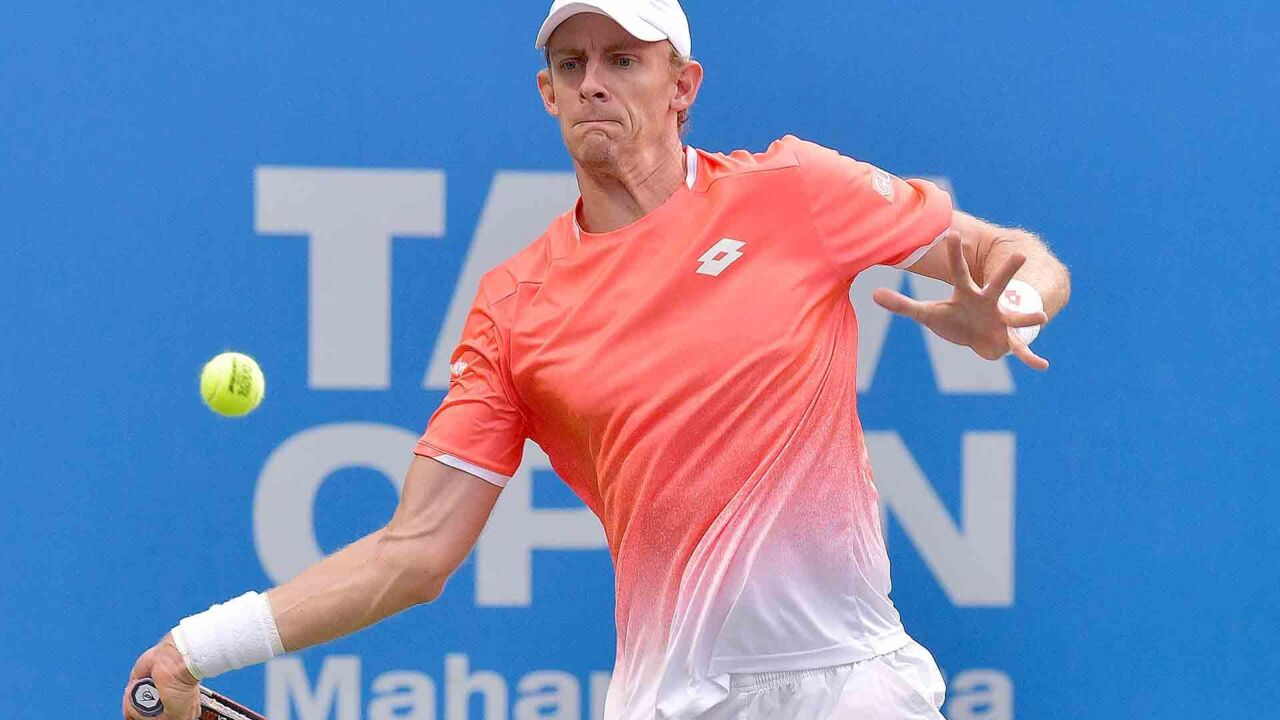 Hot Shot: Anderson Fires Forehand Winner To Earn Set Point In Pune