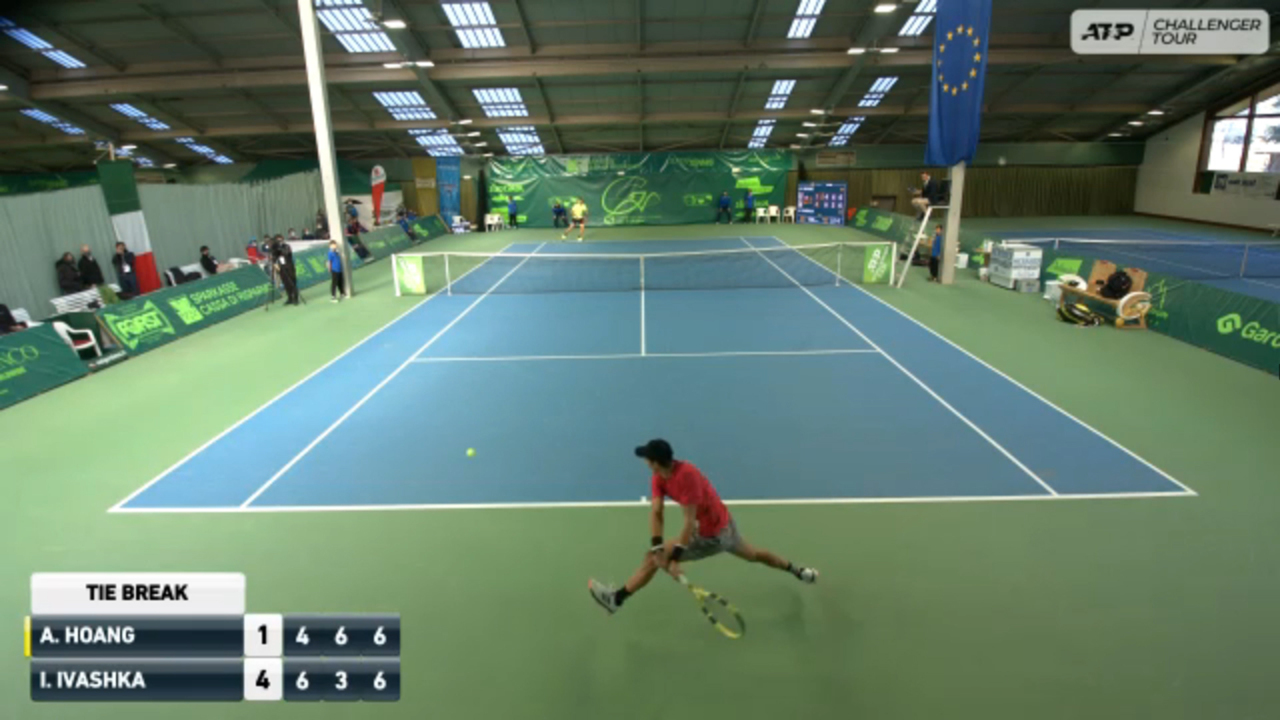 Hot Shot: Hoang's Unreal Defence In Ortisei Challenger Final