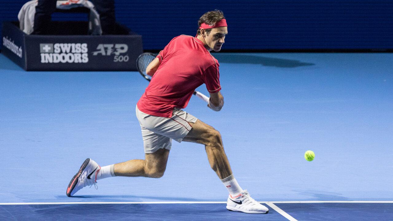 Hot Shot: Federer's Blistering Backhand Pass In The Basel Final