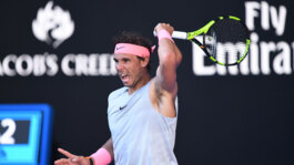 Watch Highlights: Rafa Rolls Into 2018 Australian Open R3