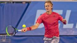 A Sebi Smash! Korda Crushes Forehand Return In Delray Beach