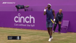Hot Shot: Absolutely Magnificent! Tiafoe's Tremendous Pass At Queen's Club