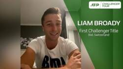 Broady Reacts To Winning Maiden Challenger Title In Biel