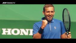 Evans Reflects On Biggest Career Win Over Djokovic