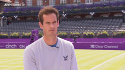 Murray Makes ATP Tour Return: 'Queen's Club Is An Amazing Place'