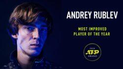 Rublev, Elegido Como El Jugador De Mayor Progreso En 2020