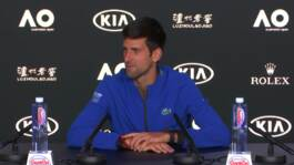 Djokovic: We're Going To Give Absolutely Everything In The Final