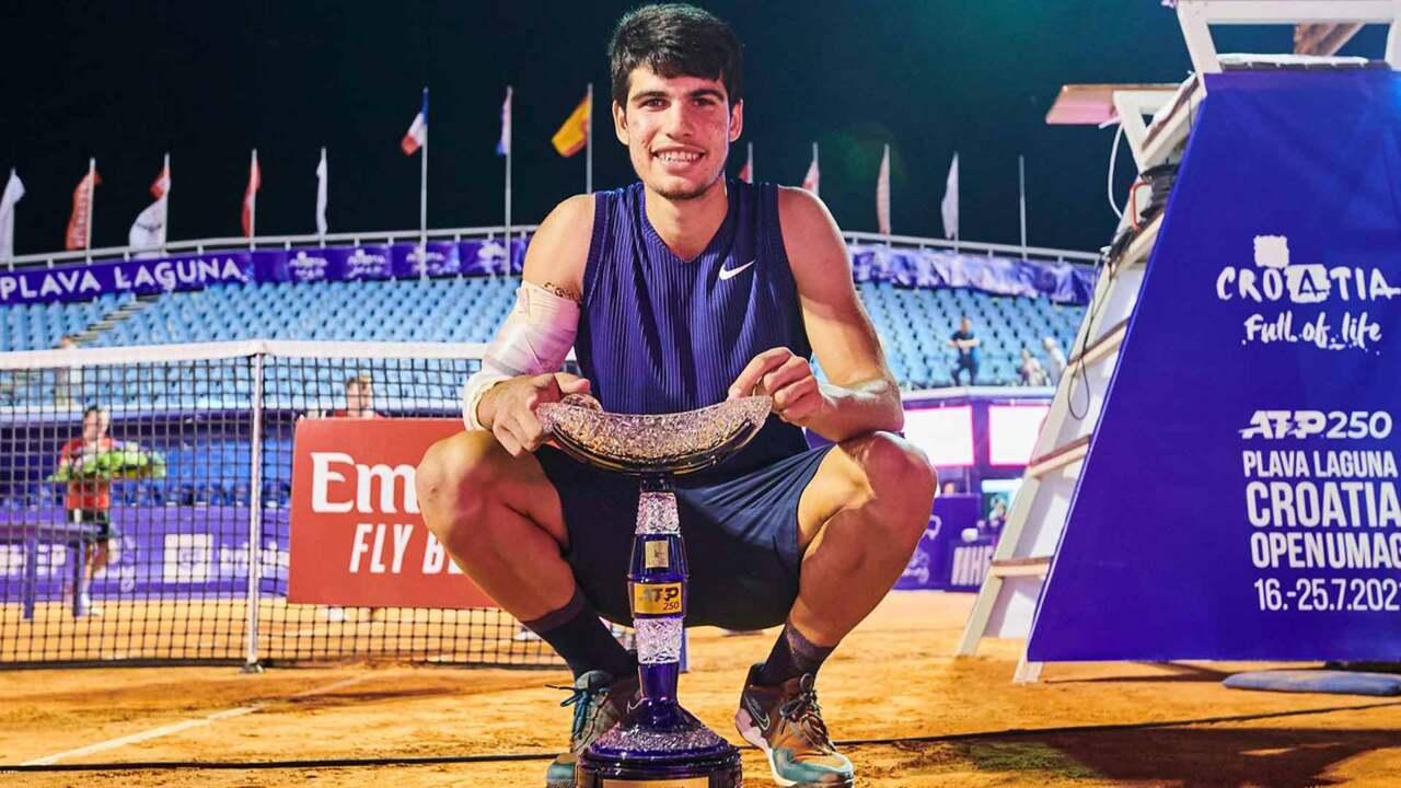 Highlights: Alcaraz Defeats Gasquet In Umag 2021, Lifts First ATP Tour Trophy