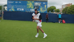 Watch Popyrin's Extended Warm Up At Eastbourne