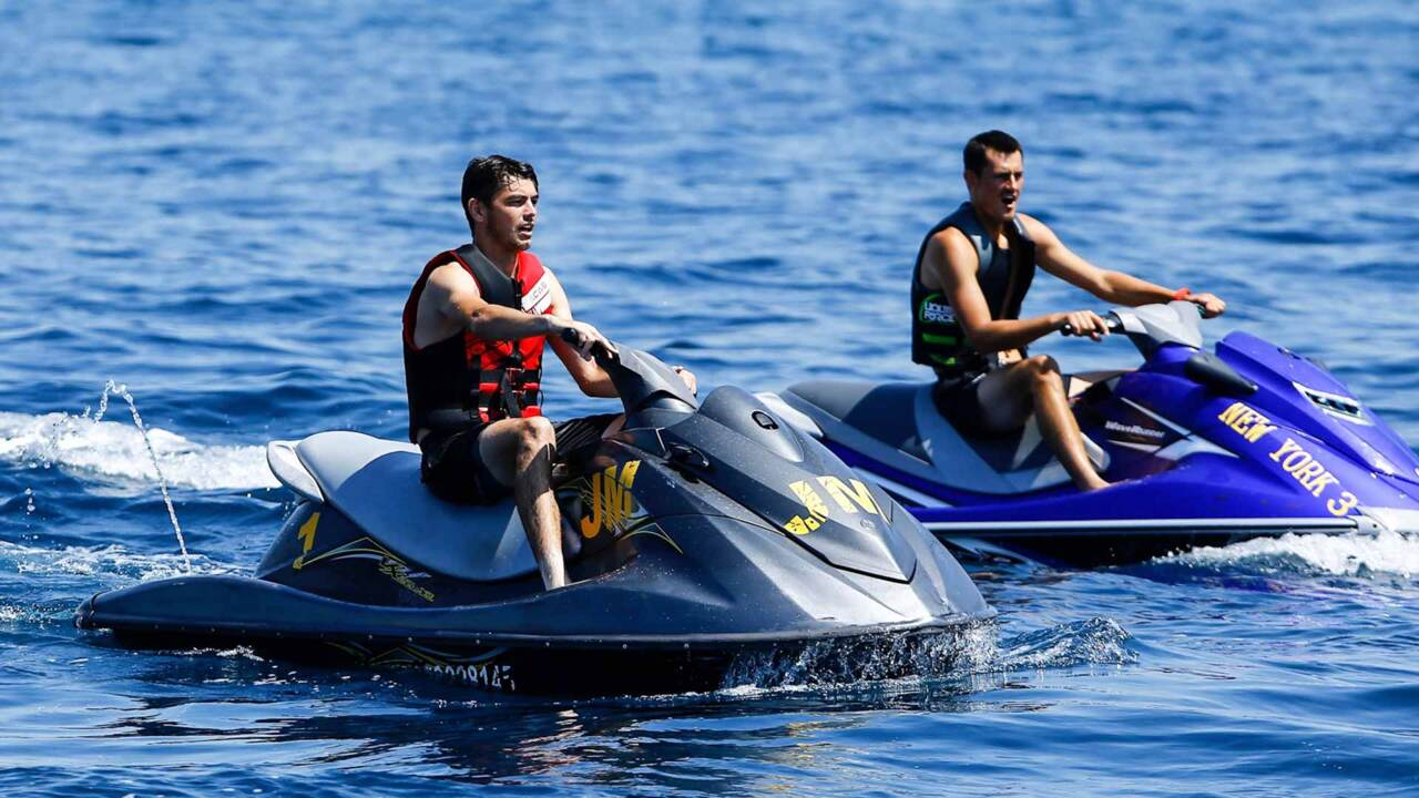 Fritz, Tomic Take Jet Skis For A Spin In Los Cabos
