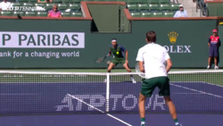 Hot Shot: Dimitrov Hits Tweener To Get Out Of Trouble