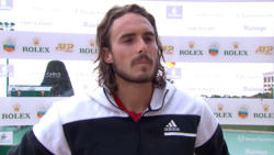 Tsitsipas: 'Things Worked Out Really Well For Me' Against Pouille