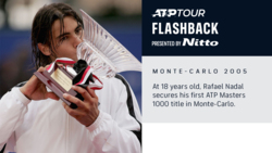 ATP Tour Flashback Presented By Nitto: Primer Masters 1000 De Nadal