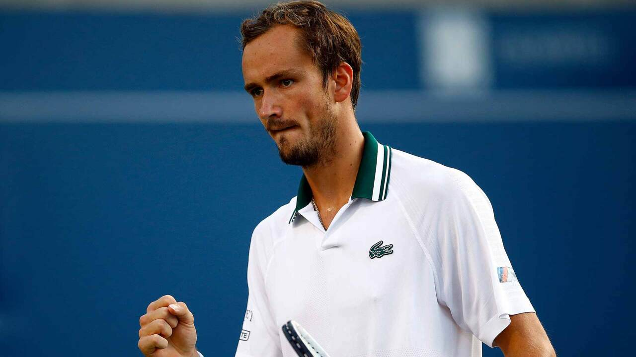 Hot Shot: Medvedev Wins Epic Rally Against Opelka In Toronto