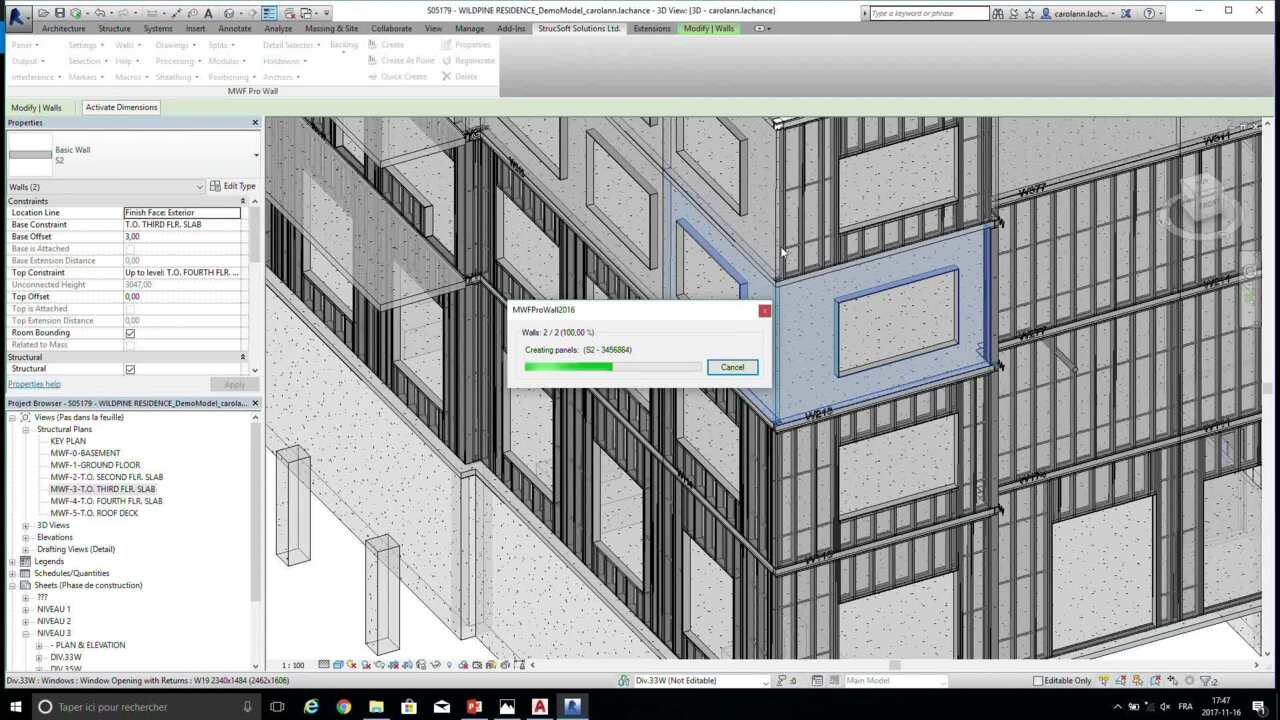 Using Revit And Advance Steel For Heavy And Light Gage Steel Detailing Repeat Autodesk University