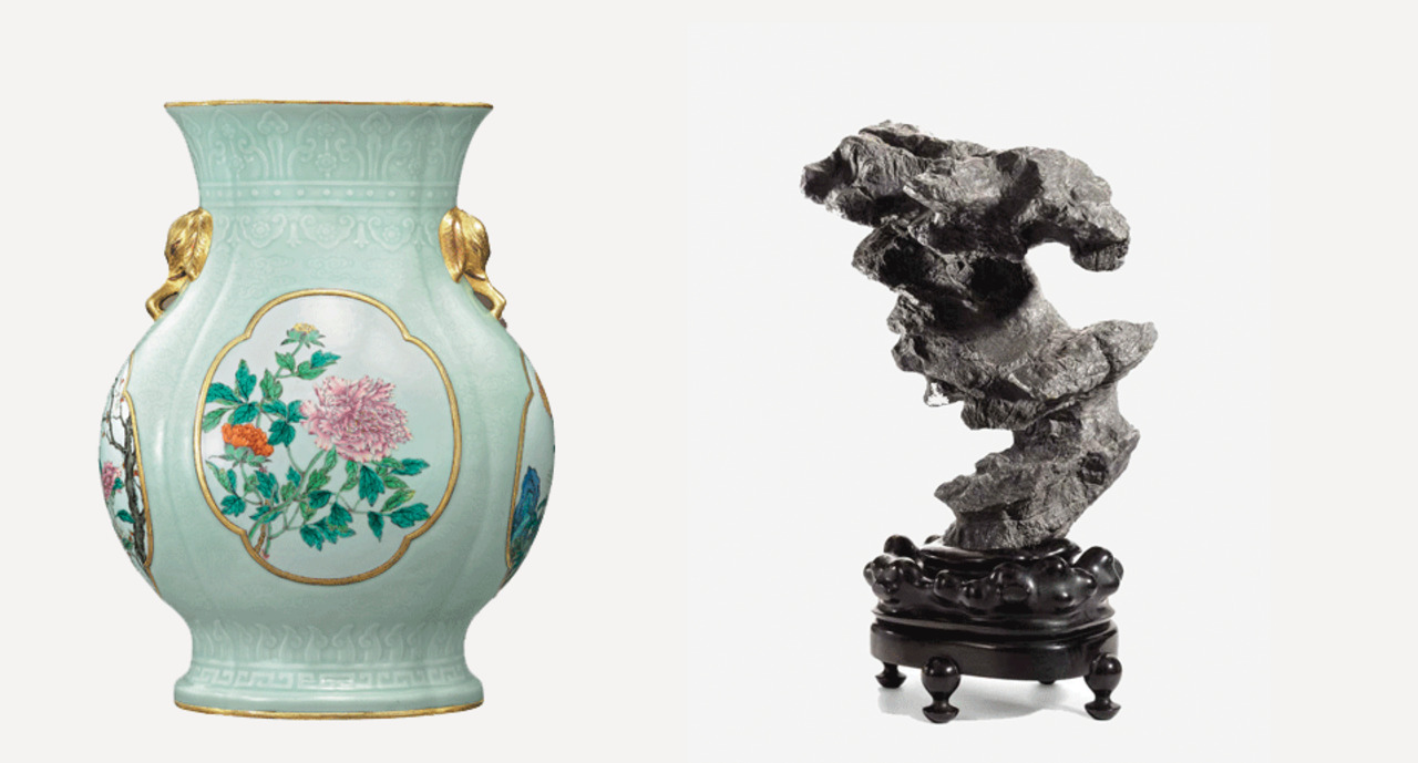 Elegant Celadon and shapelySc auction at Christies