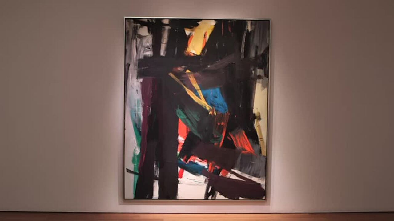 Franz Kline, In Action auction at Christies