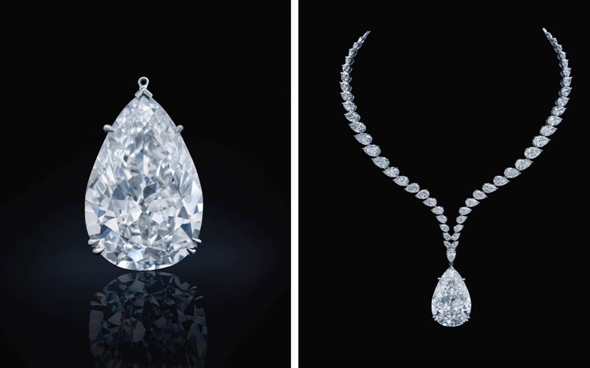 The Chrysler diamond returns t auction at Christies
