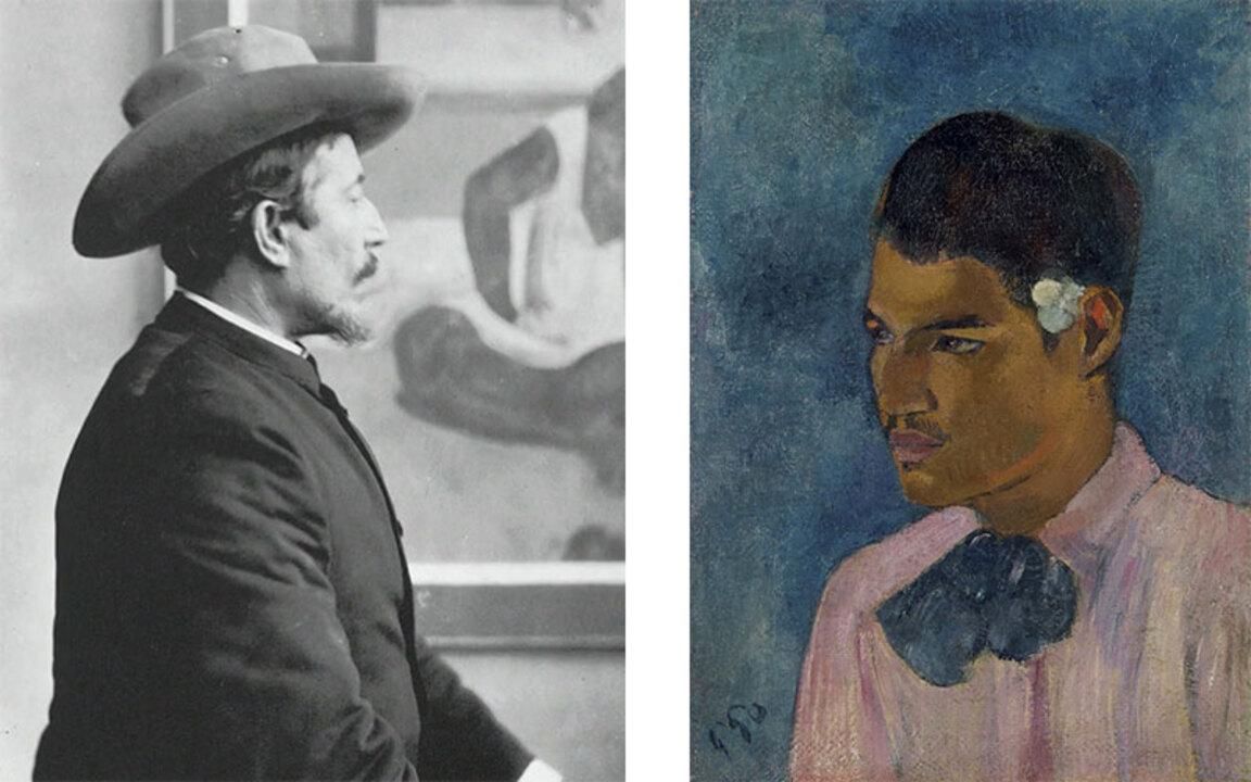 Paul Gauguin's Jeune homme à l