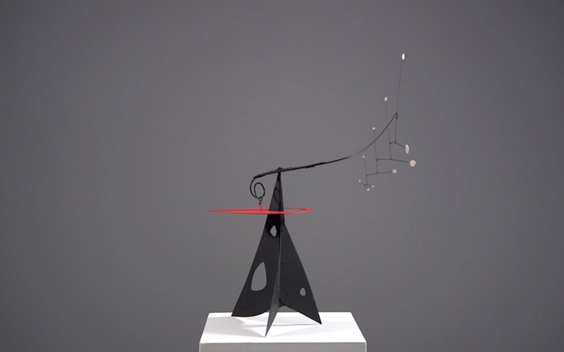 360 View: Alexander Calders 10 auction at Christies