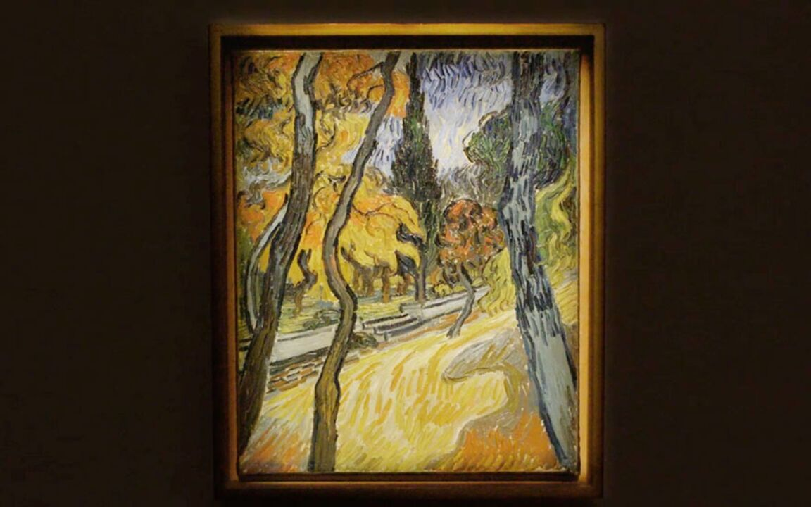 Arbres dans le jardin de l'asi auction at Christies