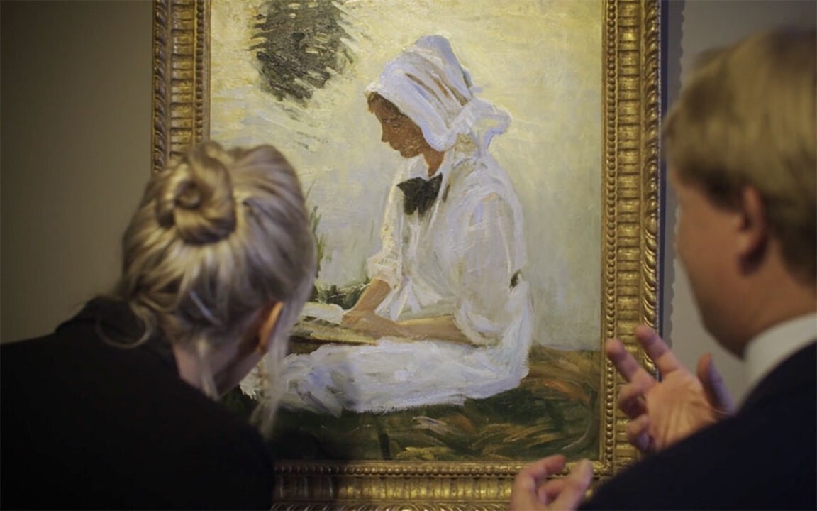 'But what of British Impressio auction at Christies