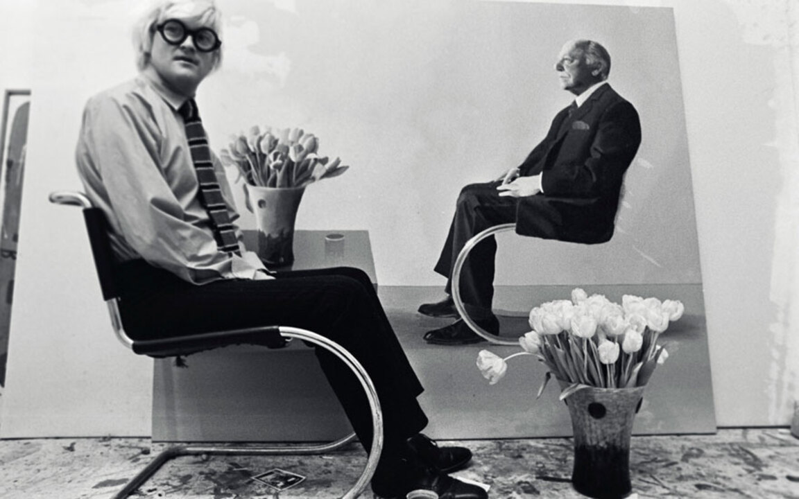 'Only Hockney really knows how auction at Christies
