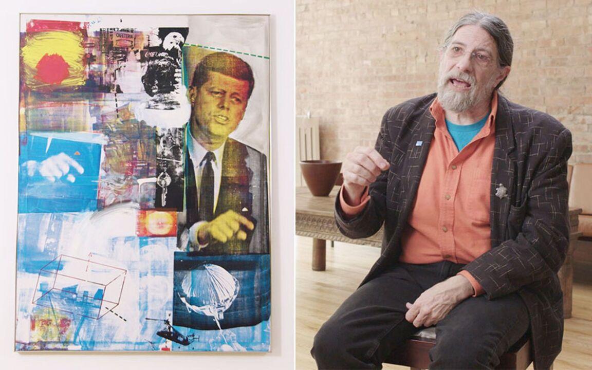 How Robert Rauschenberg 'rewro auction at Christies