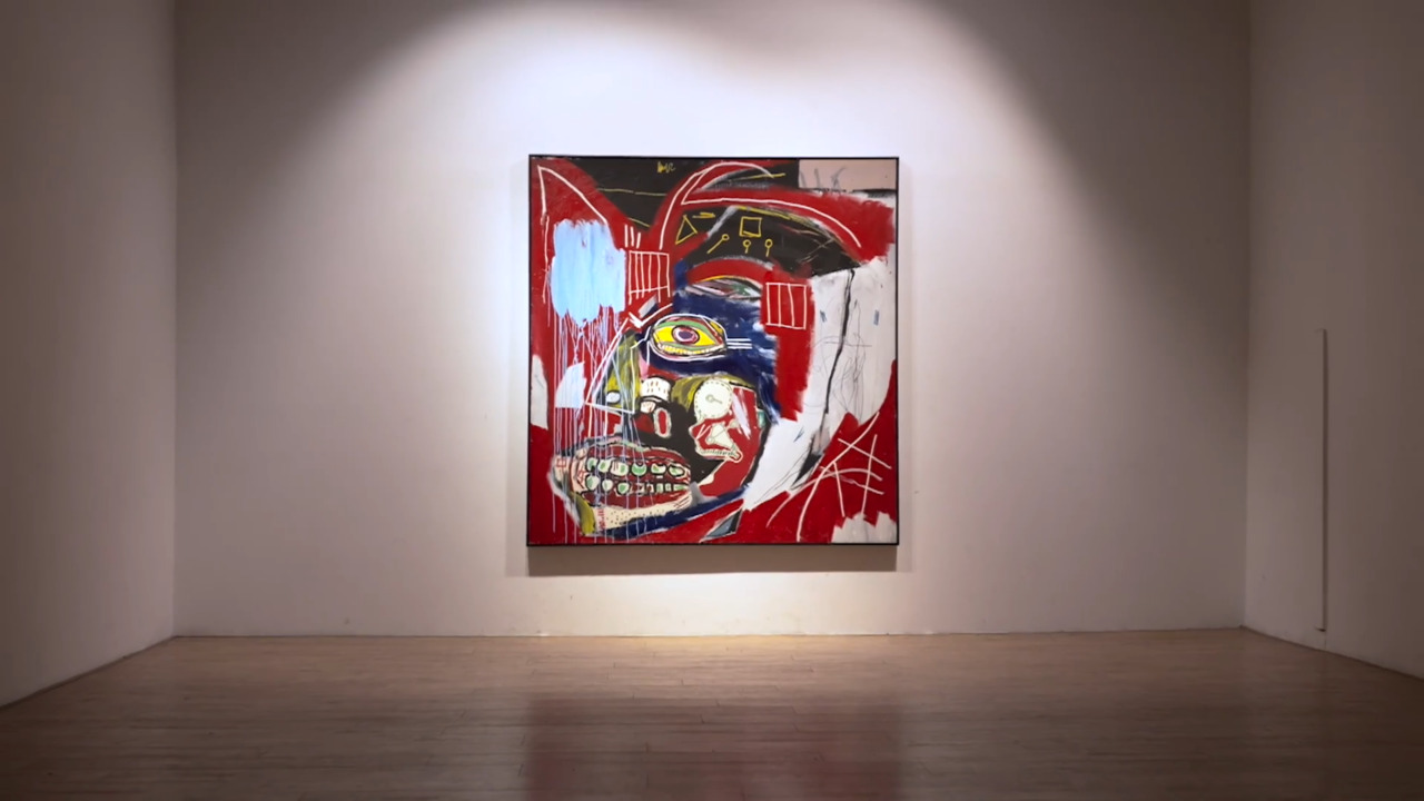 Basquiat's In This Case, a hea auction at Christies