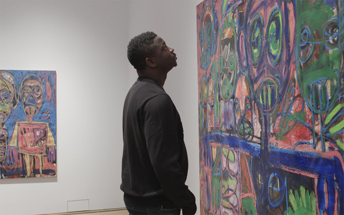 Aboudia: 'It's possible to gro auction at Christies