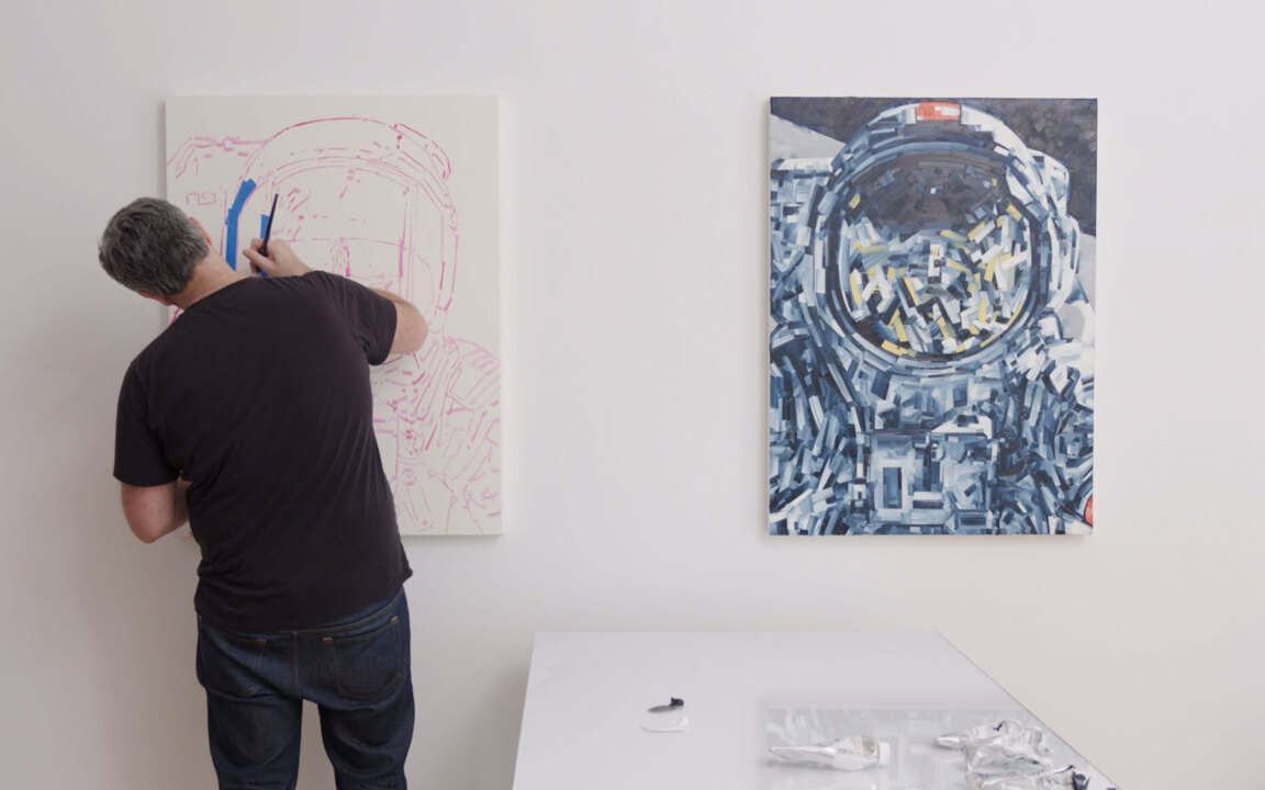 Studio visit: Michael Kagan auction at Christies
