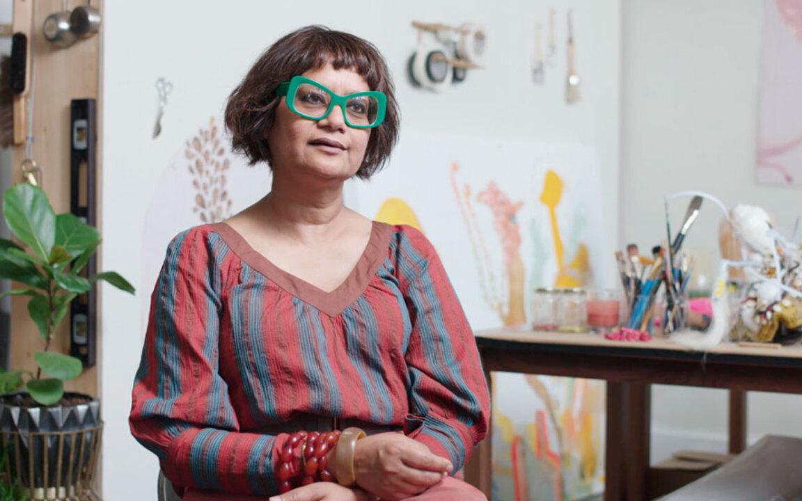 Studio visit: Rina Banerjee auction at Christies