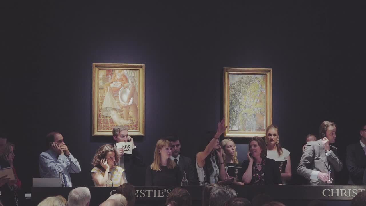 Christie's London Spring 2015  auction at Christies