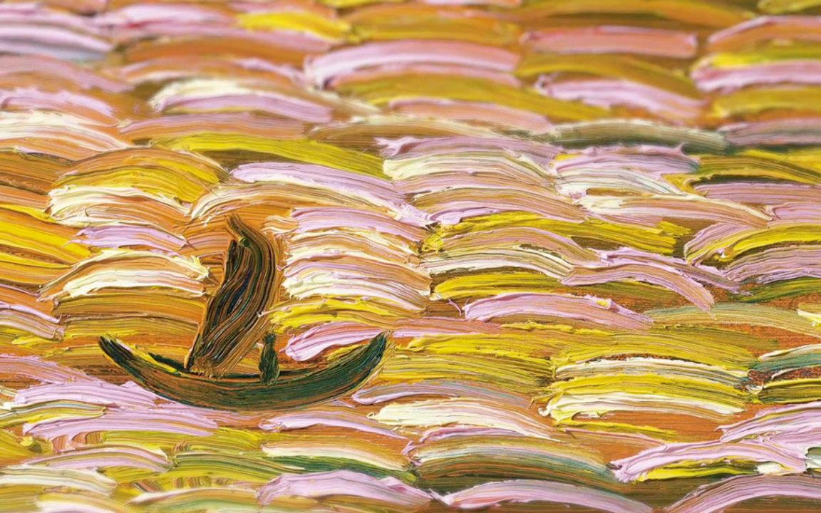 「幻覺般的朝聖之旅」︰美好而憂鬱的天才畫家王俊傑 auction at Christies