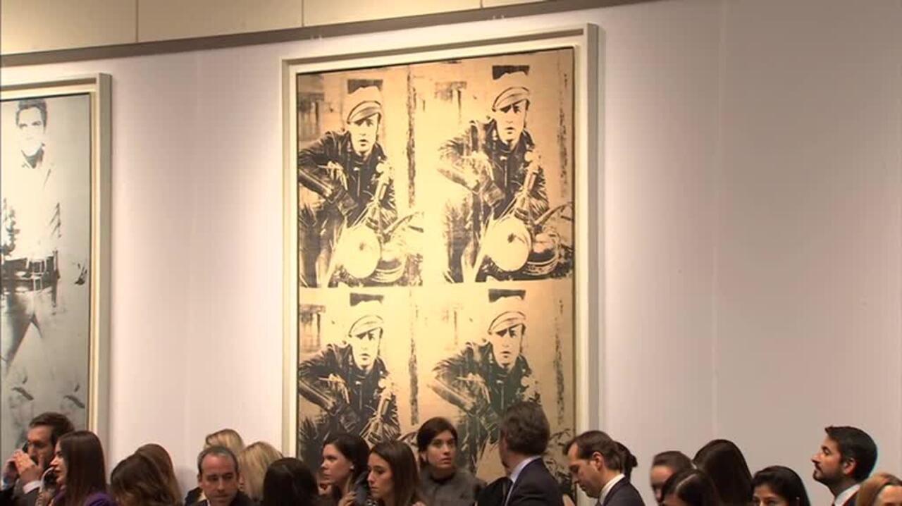 In The Saleroom: Andy Warhol's auction at Christies