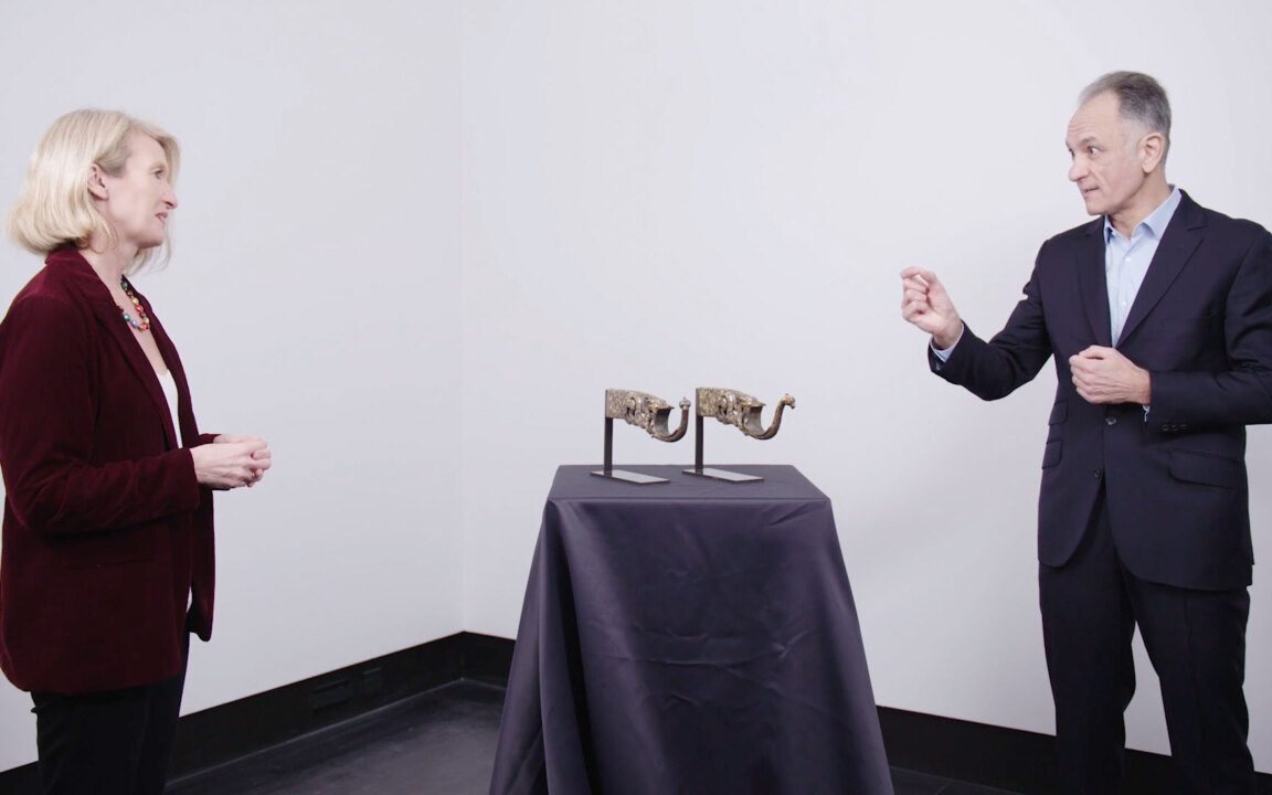 Beautiful and deadly: a pair o auction at Christies