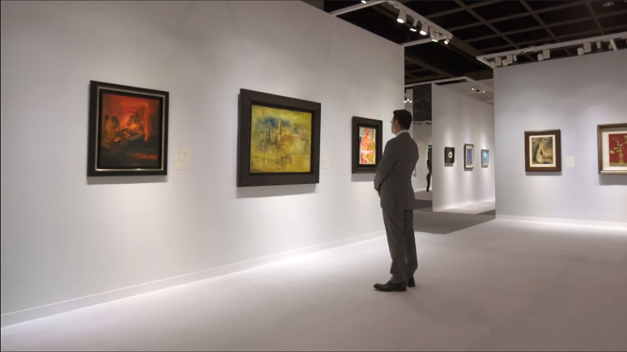 Behind the Scenes: Asian 20th  auction at Christies