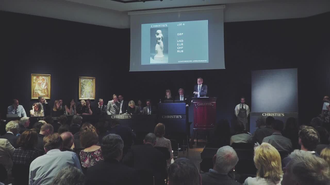 In The Saleroom: Eric Gill's S auction at Christies