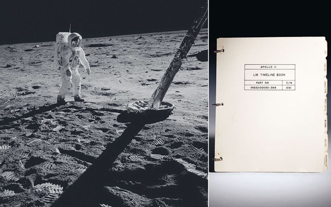 The Apollo 11 Lunar Module Tim auction at Christies