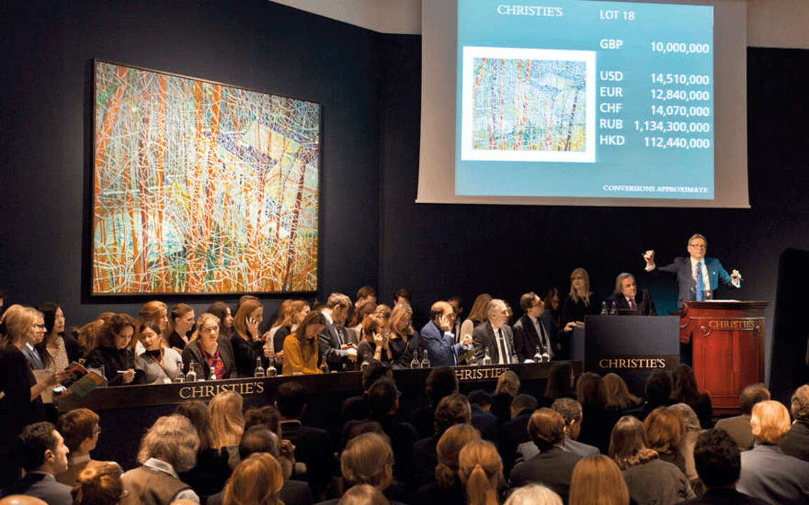 20th Century at Christie's rea auction at Christies