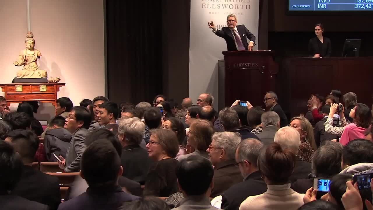 Christie's Asian Art Week Lead auction at Christies