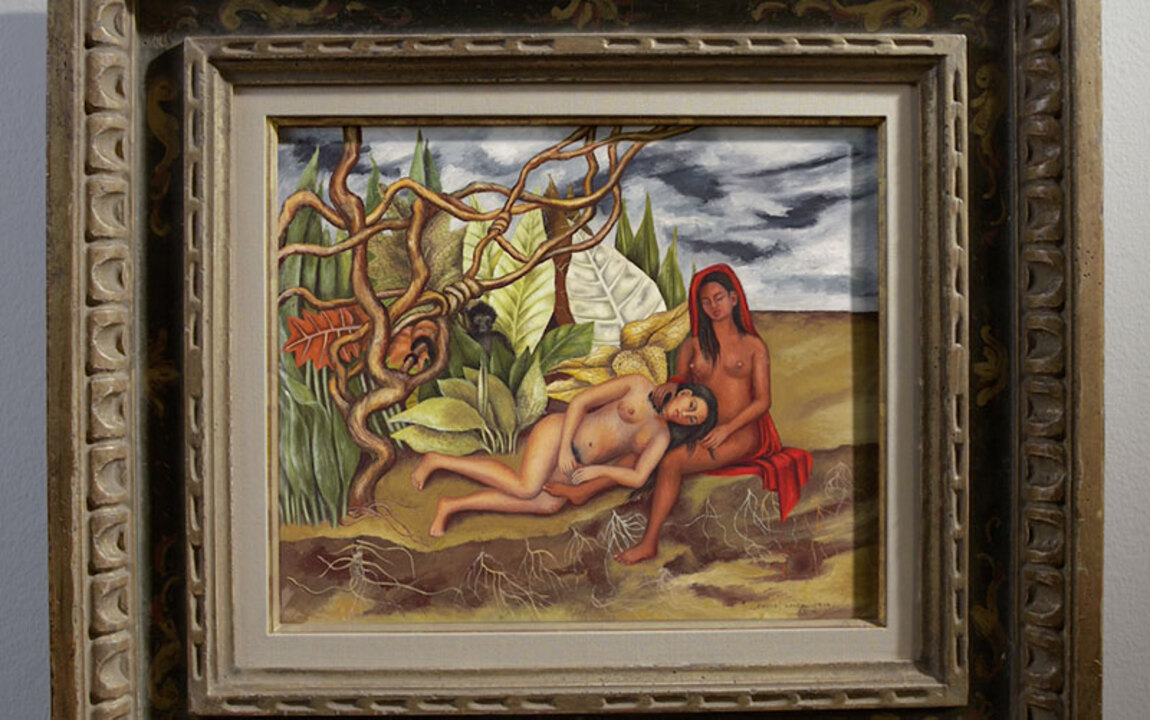 Frida Kahlo's Two Nudes in a F