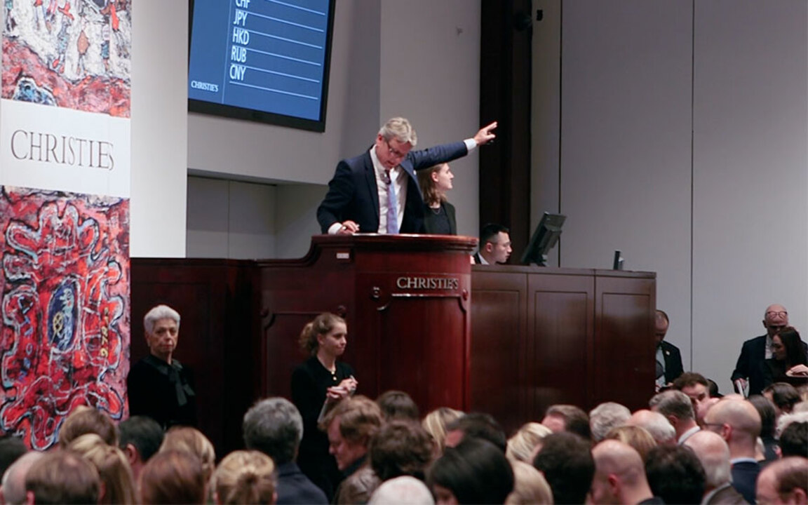 Christie's 20th Century Week t auction at Christies