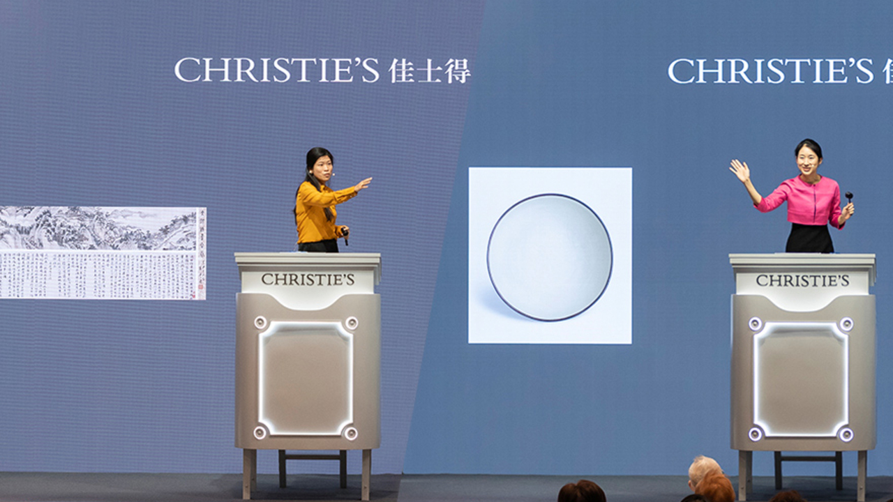 Christie's Asian Art Autumn Au auction at Christies
